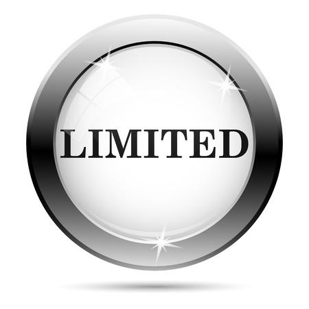 peel off: Metallic icon with black design on white glass background Stock Photo