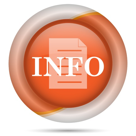 service sphere support web: Glossy icon with white design on orange plastic background