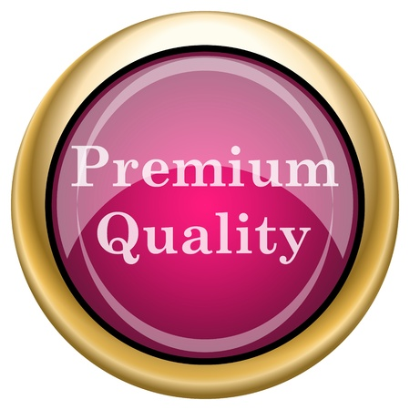 top class: Shiny glossy icon with white design on magenta and gold background
