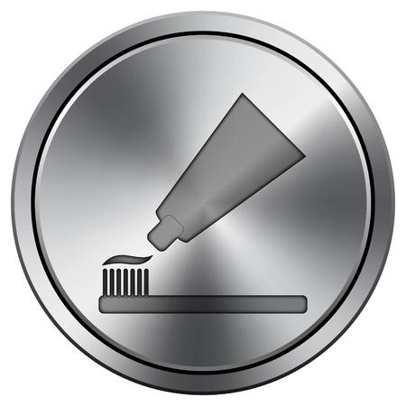 Metallic pictogram met gesneden ontwerp