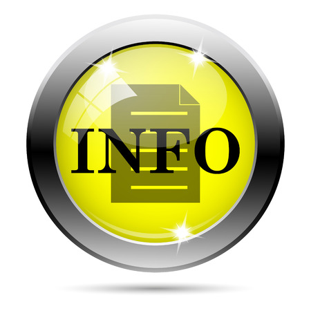 service sphere support web: Metallic round glossy icon with black design on yellow background