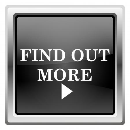 Metallic icon with white design on black background Stock Photo - 22490517