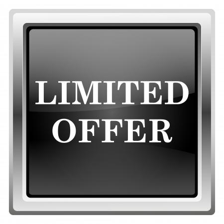 auction off: Metallic icon with white design on black background