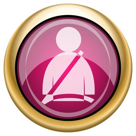 Safety belt icon photo