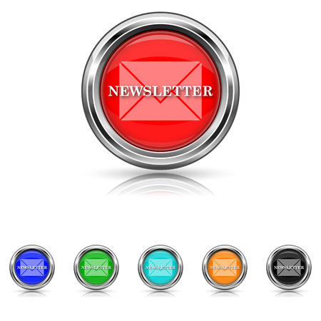 flysheet: Shiny glossy icons - six colours set Illustration