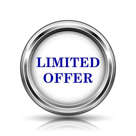 peel off: Shiny glossy icon - internet metallic button Stock Photo