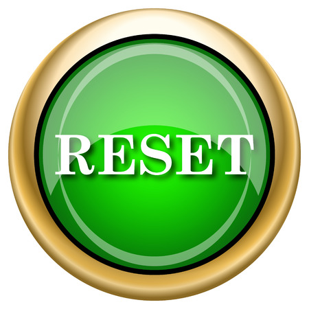 revision: Shiny glossy green and gold icon - internet button