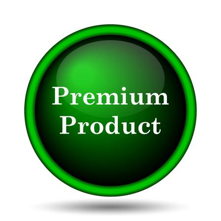 product icon: Premium product icon. Internet button on white background.  Stock Photo