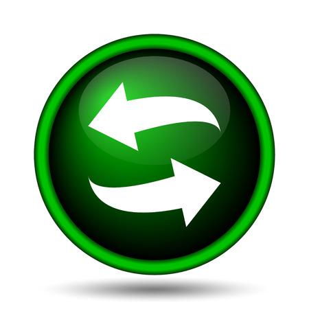 swap: Swap icon. Internet button on white background.