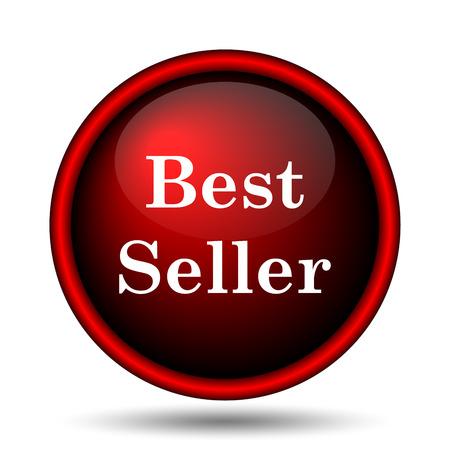 Best seller icon. Internet button on white background.  photo