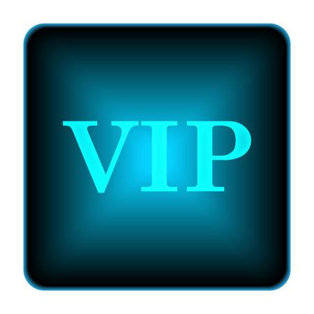 VIP icon. Internet button on white background.  photo