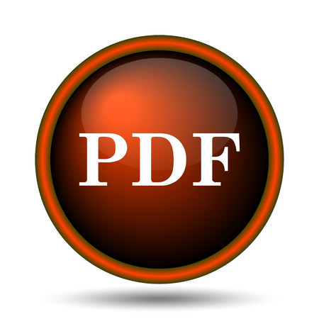 bibliography: PDF icon. Internet button on white background.
