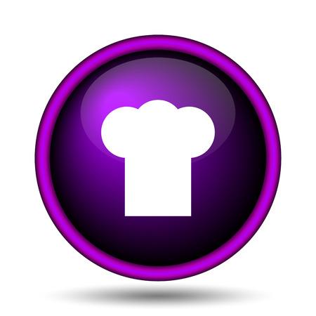 kitchener: Chef icon. Internet button on white background.