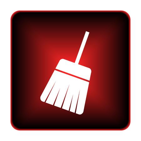 Sweep icon. Internet button on white background.