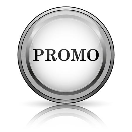 Promo icon. Internet button on white background.  photo