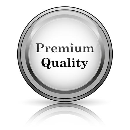 Premium quality icon. Internet button on white background.  photo