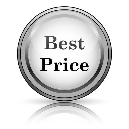 Best price icon. Internet button on white background.  photo