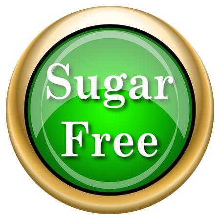sweetener: Green shiny glossy icon on white background.
