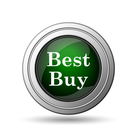 choise: Best buy icon. Internet button on white background.  Stock Photo