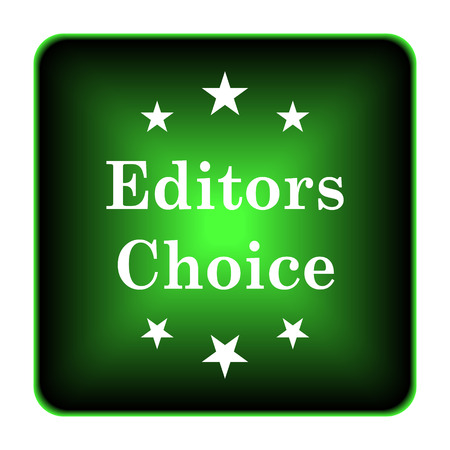 Editors choice icon. Internet button on white background.  photo