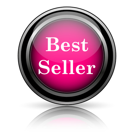 Best seller icon. Internet button on white background. photo