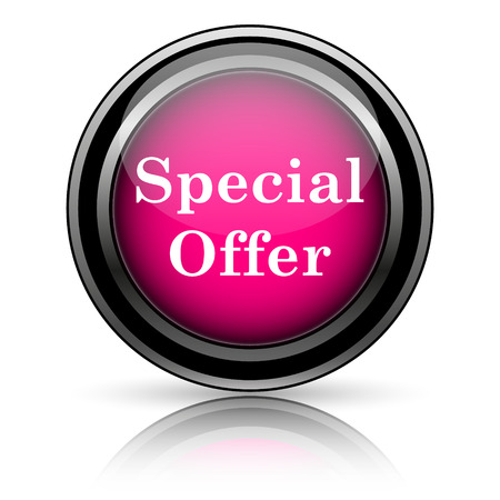 Special offer icon. Internet button on white background. photo