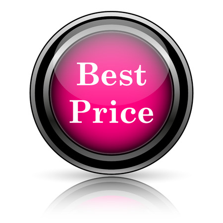 Best price icon. Internet button on white background. photo