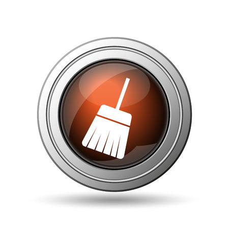 Sweep icon. Internet button on white background. photo