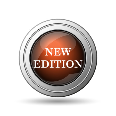 New edition icon. Internet button on white background. photo