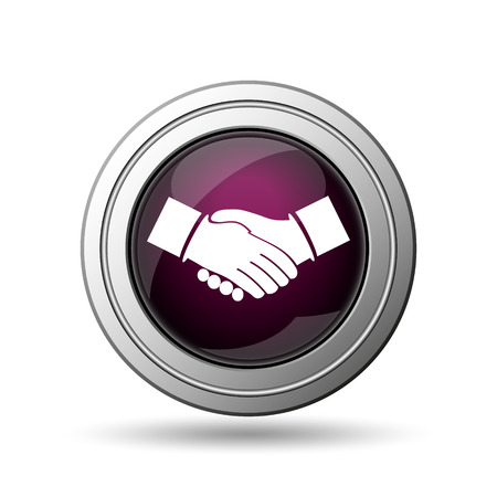 Agreement icon. Internet button on white background. photo