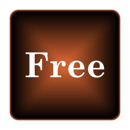 gratuity: Free icon. Internet button on white background.