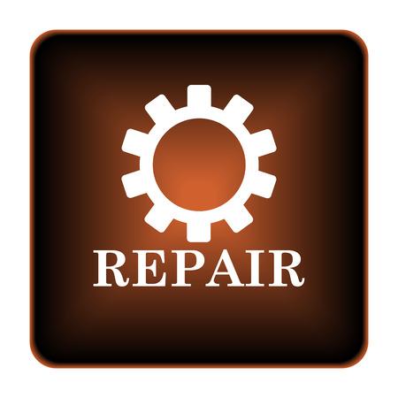 Repair icon. Internet button on white background. photo