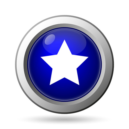 Favorite  icon. Internet button on white background. Stock Photo