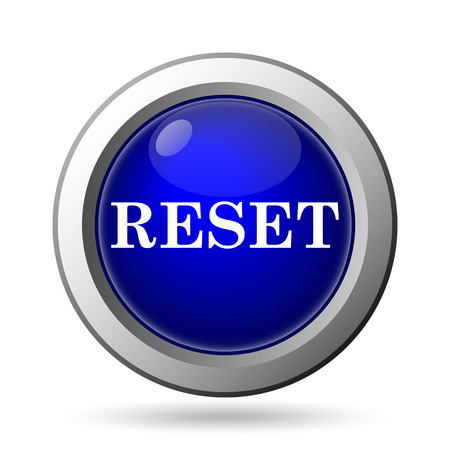 redesign: Reset icon. Internet button on white background.