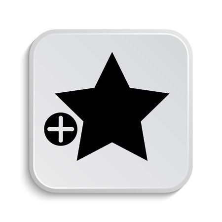 favorites: Add to favorites icon. Internet button on white  background.