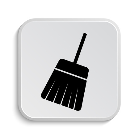 sweep: Sweep icon. Internet button on white  background. Stock Photo