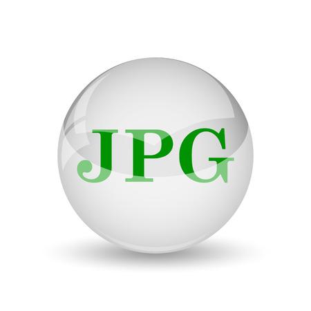 display type: JPG icon. Internet button on white background.