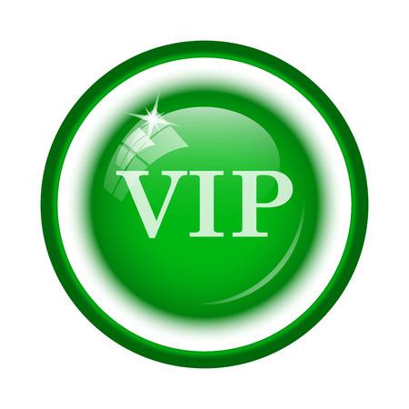 millionaire: VIP icon. Internet button on white background. Stock Photo