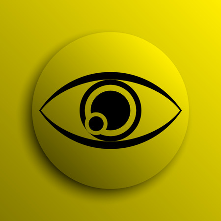 see a doctor: Eye icon. Yellow internet button.
