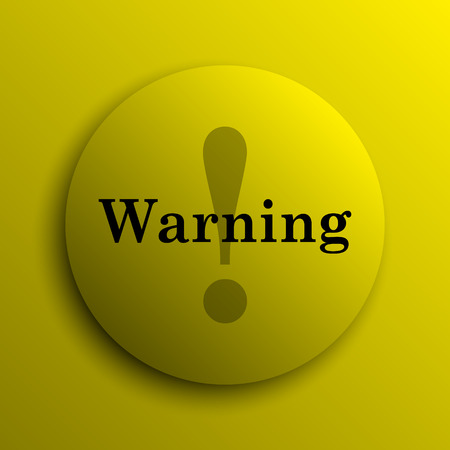 peril: Warning icon. Yellow internet button.
