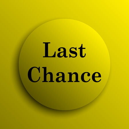 last: Last chance icon. Yellow internet button.
