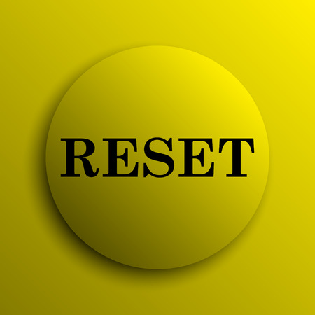 redesign: Reset icon. Yellow internet button.