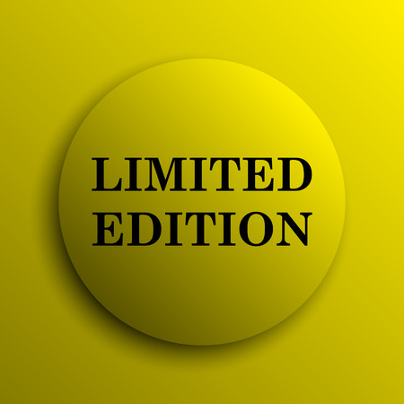 rarity: Limited edition icon. Yellow internet button.