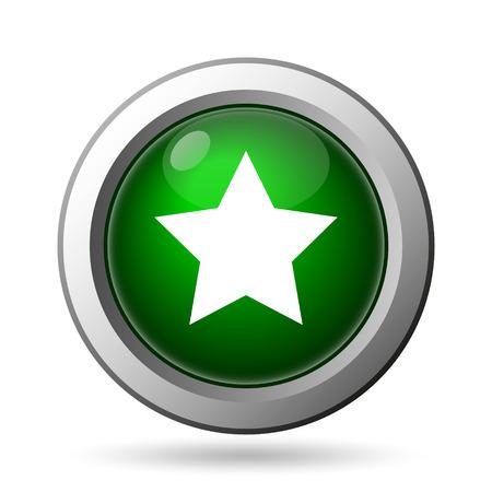 Favorite  icon. Internet button on white background Фото со стока