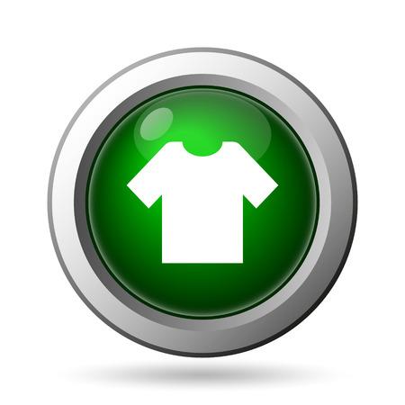 t short: T-short icon. Internet button on white background