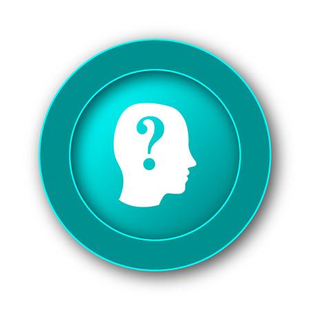quiz: Quiz icon. Internet button on white background