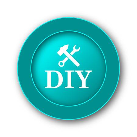 diy: DIY icon. Internet button on white background Stock Photo