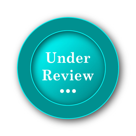 reviewed: Under review icon. Internet button on white background