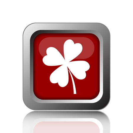 clover buttons: Clover icon. Internet button on white background