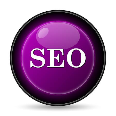 icons site search: SEO icon. Internet button on white background.